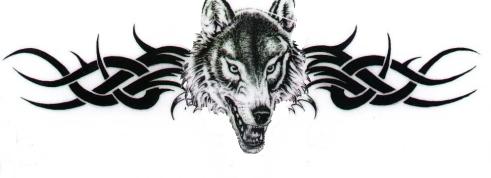 Lobo del Arco de entrada a la ciudad sagrada