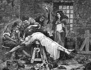 Torture of Brinvilliers, 17th Century