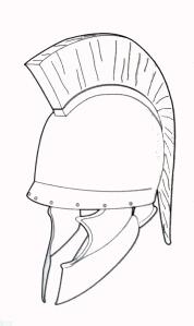 casco griego 4