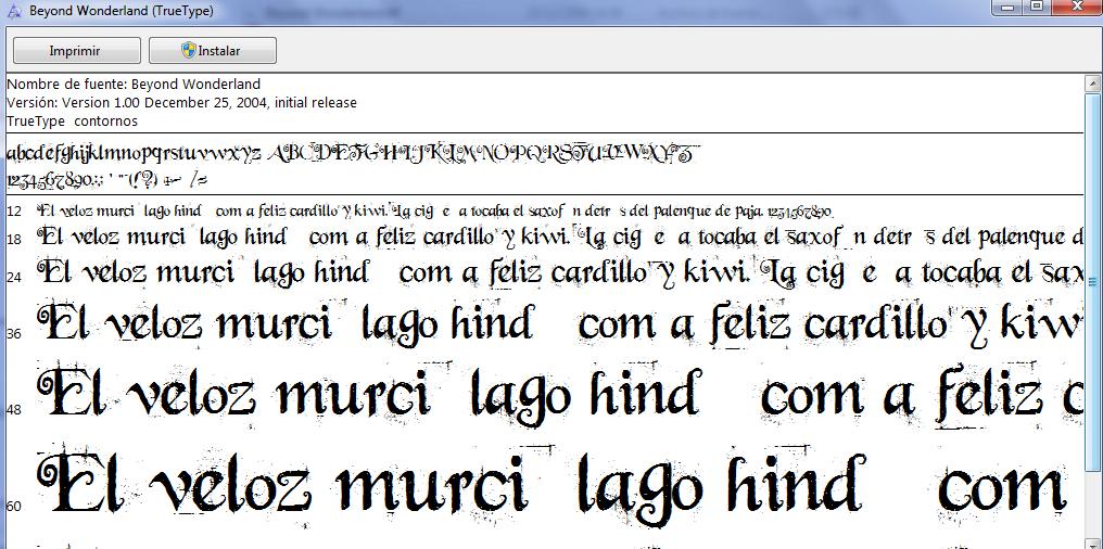 Anatomía de la letra (Tipografía) | Leyendas de los Mirdalirs