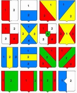 numeración de cuarteles