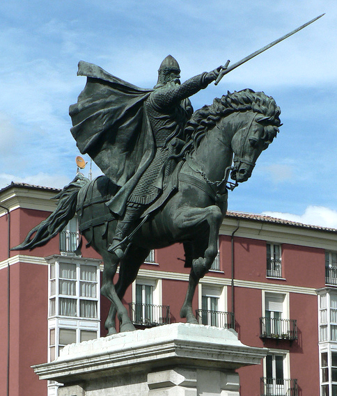 Estatua_del_Cid_(Burgos)