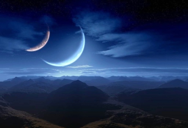 two-moons,-digital-landscape,-mountainous-country,-mountain-145313 (1)