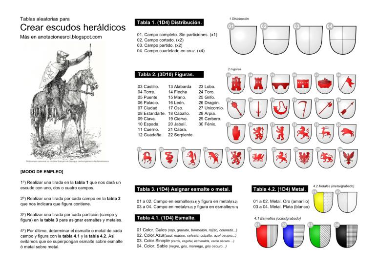 Generador heraldico