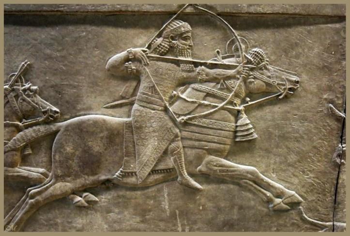 Assurbanipal a la caza del leon-Pal Assurbanipal Ninive-British Museum 9